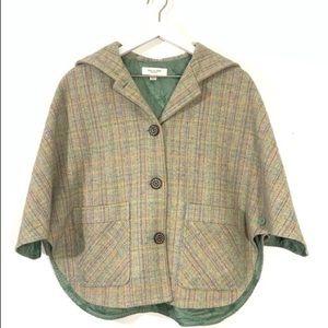 Paul & Joe Multicoloured Wool-blend Cape